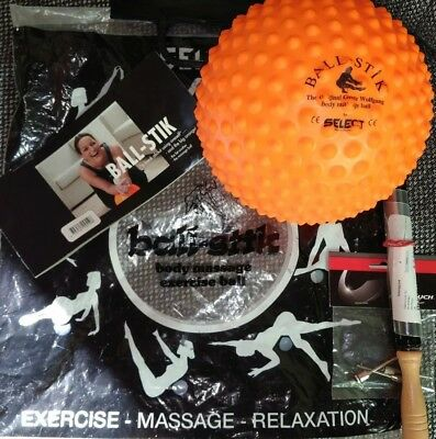 Select Ball-Stik orange Massageball Muskel Verspannung wie neu