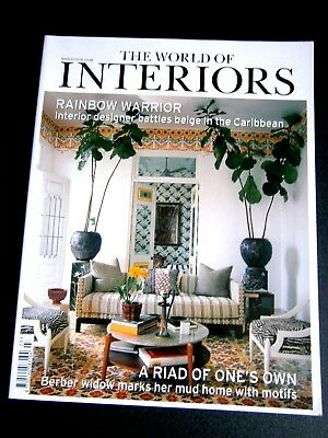 The World Of Interiors Magazine March 2018 (new)
