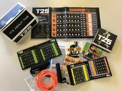 BRAND NEW *COMPLETE ALPHA /BETA /GAMMA T25 WORKOUT 14DVD's SET*SEALED BOX@##