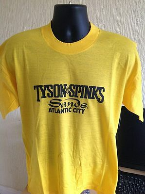 MIKE TYSON vs MICHAEL SPINKS - VINTAGE SANDS CASINO FIGHT NIGHT T-SHIRT