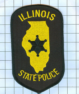 Police Patch - Illinois - STATE POLICE