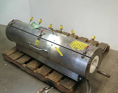 "Thermcraft Tube Furnace 48"" Length 5"" ID Max Temp 1202F Model TSP-5-0-48-6V"