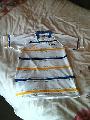 University Of Bath-50Th Anniversary Short Sleeved Rugby Shirt-Size Small-Vgc.