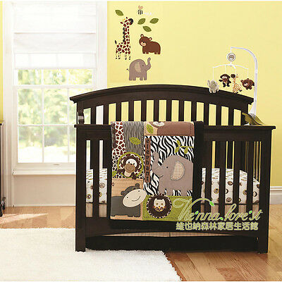 4 Piece African Land Baby Crib/Cot Bedding Set - Everything You Need!!!