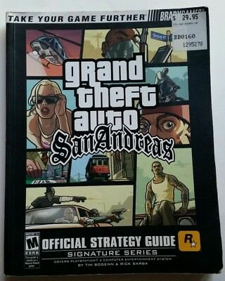 Bradygames Grand Theft Auto: San Andreas Official Strategy Guide (Playstation 2)