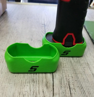 QUANTITY 2 - Snap On Green Battery Boot Covers CT761 CTS761 CDR761 CTR761 14.4V