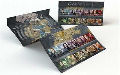 Game of Thrones Character Stamps 1st Class in Presentation Pack 2018 GB