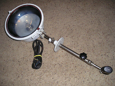 Norselight Searchlight Deck Mounted Halogen Sh200Bs 24V *works*