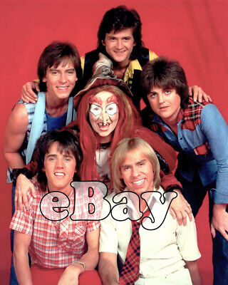 Rare! BAY CITY ROLLERS Color TV Photo SID & MARTY KROFFT SUPERSTAR HOUR