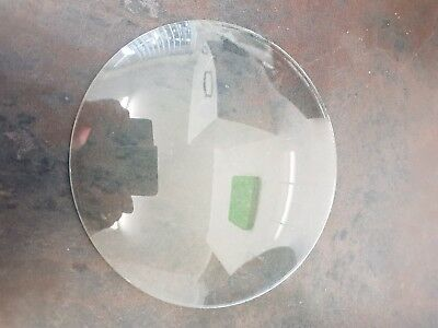 antique wall clock  bezel convex glass