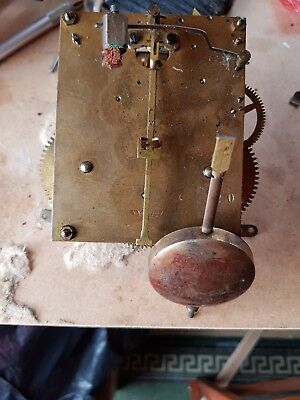 Schlenker & Kienzle Clock Movement Spares Or Repair German Movement