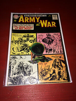 Our Army at War No. 127 Feb. 1963 DC Comic