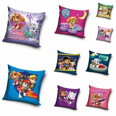 Paw Patrol Cushion Covers Kids Children's Pillowcase 40 x 40cm Skye Everest