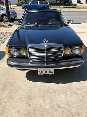 1985 Mercedes-Benz 300-Series Coupe 1985 Mercedes Benz 300 Series Coupe Diesel