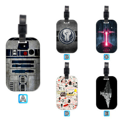 Star Wars R2D2 Lovely Wood Travel Bag Luggage Tag
