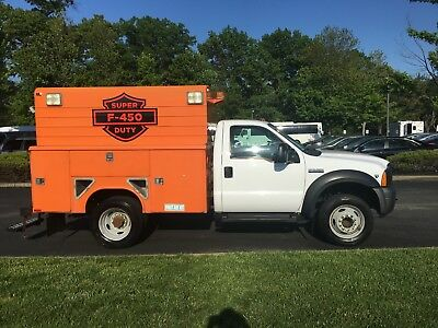 2007 Ford F-450 XLT 2007 FORD F450 SUPER DUTY WALK IN UTLITY BOX WITH ONLY 71700 MILES