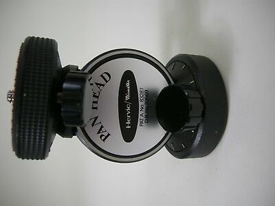 Hervic/Minette pan head tripod mount for video or camera