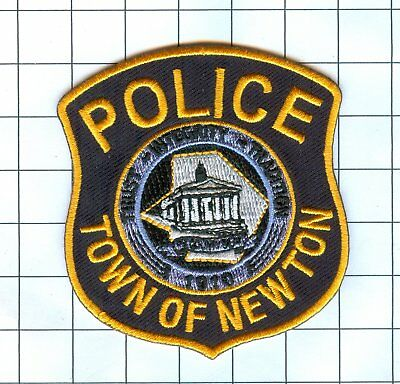 Police Patch  - New Jersey - TOWN OF NEWTON