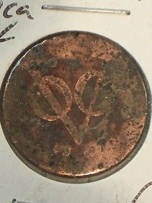 1790 VOC American Colonial Coin ++NEW YORK PENNY++ 1 DUIT...item#23