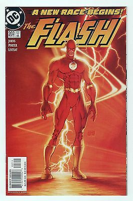 The Flash Vol.2 #207 Michael Turner Cover Geoff Johns
