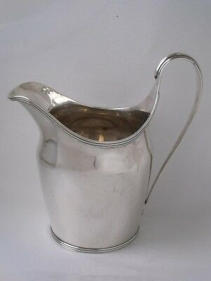 Antique Georgian Crested Solid Sterling Silver Milk Jug 1795/ H 11.8 cm/ 141 g