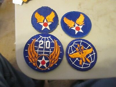 u,s, army world war 2 u.s. army air force patches