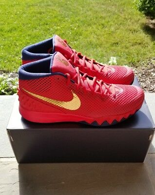 d94ce7947f8 Nike Kyrie 1 USA Olympic NikeID Red Navy Gold Size 12 NEW NBA Finals Lebron