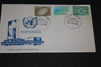 Malaysia 1970 United Nations Ann First Day Cover