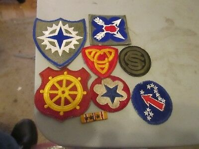 u,s, army world war 2 PORT OF EMBARKATION,16TH CORPS,AA COMMAND, PACIFIC OCS, +