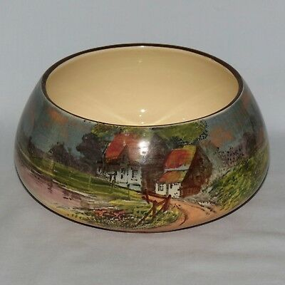 Royal Doulton seriesware English Cottages A rose bowl D4390