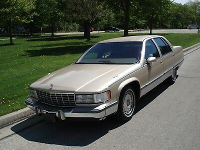 1994 Cadillac Brougham LEATHER 1994 CADILLAC FLEETWOOD BROUGHAM