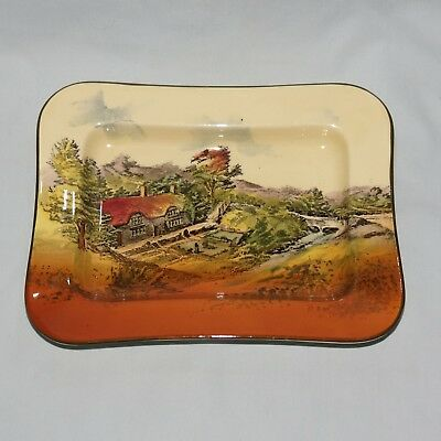Royal Doulton seriesware Melbourne shape tray Countryside D3647