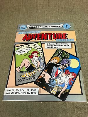Thrilling Adventure Strips by Dale Messick June 1986 Brenda Starr, Reporter