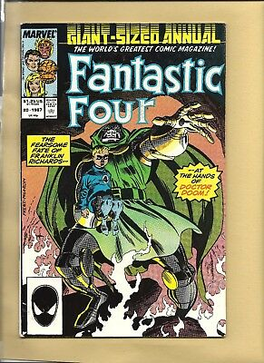 FANTASTIC FOUR  #20 ANNUAL 1987 GIANT-SIZE White Pages  MARVEL COMICS