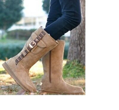817596a6692 UGG BOOTS WOMEN'S Size 8 Tall Brown Expresso Retro Cargo New in Box