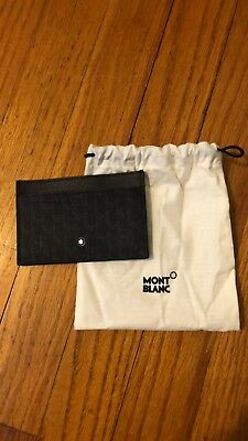Montblanc 2 Pocket Business Card Holder