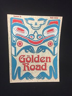 Vintage Golden Road Magazine ~ Issue 4 ~ Fall 1984 - Grateful Dead