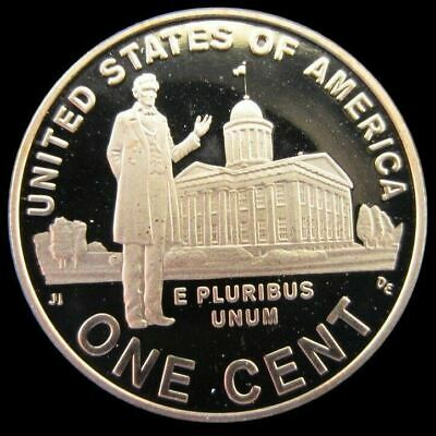 "2009 S Lincoln ""Professional Life"" Penny Gem Deep Cameo PROOF US Mint Coin"