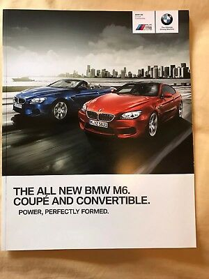 BMW M6 Launch Coupe and Gran Coupe 2012 Sales Brochure