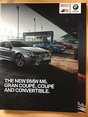 BMW M6 LCI Coupe and Gran Coupe 2015-2016 Sales Brochure