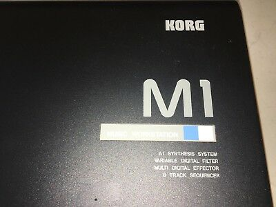 Korg M1 Synthesiser - Awesome Condition