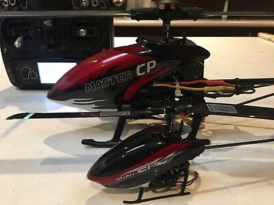 Walkera Master and Mini RC Helicopters & Devo 7 Controller