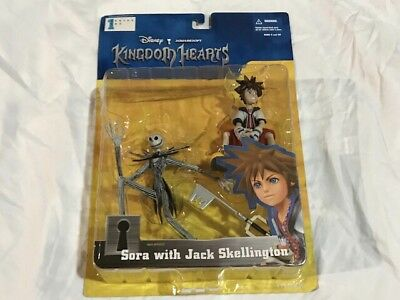 "Kingdom Hearts S1 ""Sora with Jack Skellington"" figurine"