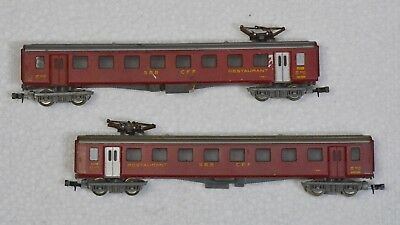 Lima Italy N gauge set of 2 carriages