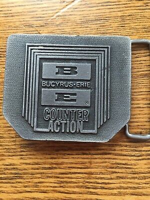 Bucyrus Erie BE Mining Equipment Company Counter Action Belt Buckle construction