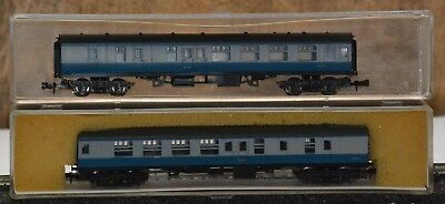 Lima Italy N Gauge Carriage set of two