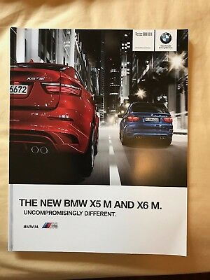 BMW X5M and X6M Launch Sales Brochure 2010-2011