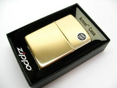 Zippo Full Size High Polish Brass Armor Windproof Lighter Model 169