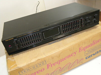 Preowned Stereo 10 Band Graphic Equalizer