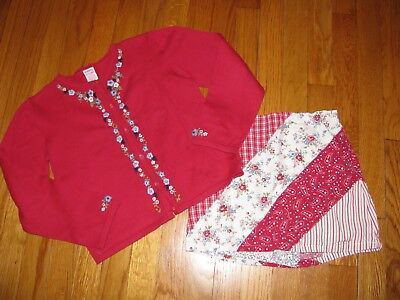 Girls Gymboree Indian Summer Skirt and Sweater size 7